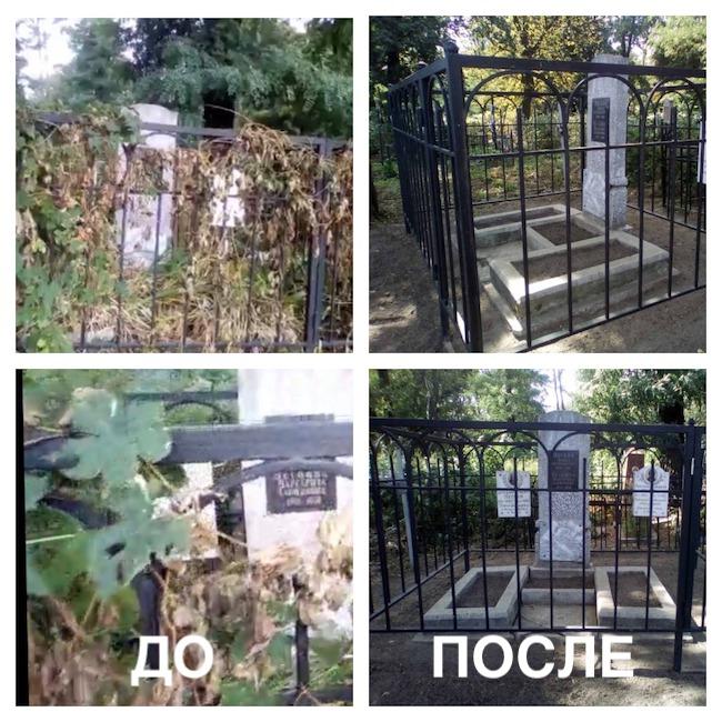 уборка на куреневском кладбище